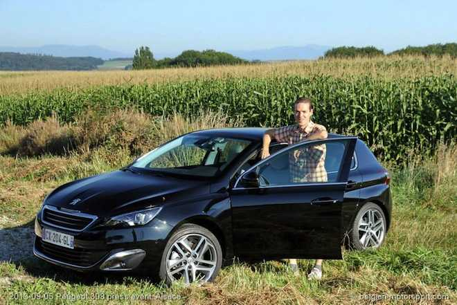 Maarten Vogels test de Peugeot 308