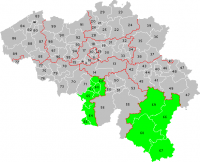 Postcode 6000 Charleroi