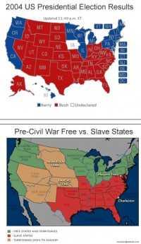 Presidentsverkiezingen 2004 vs Burgeroorlog