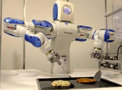 Robot kan pannekoeken bakken