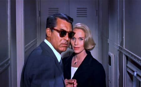 Roger Thornhill en Eve Kendall