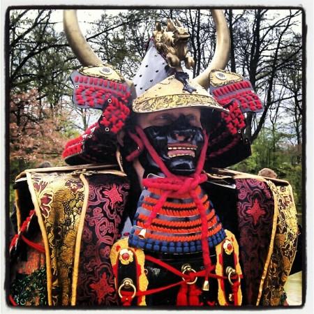 Samurai uitrustig