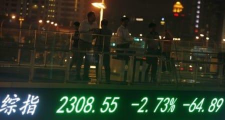 In Shanghai verloor de index -64,89 punten