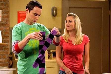 Sheldon en Penny doen de was