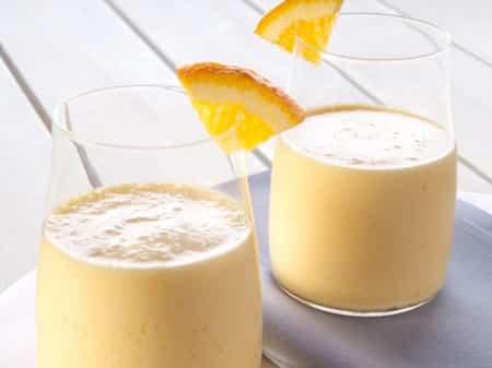 Sinaasappel smoothie
