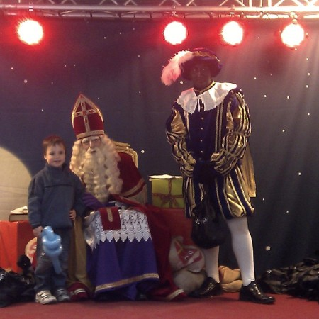 Sinterklaas in de Grand Bazar Shopping Antwerpen