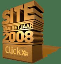 Site van het jaar 2008