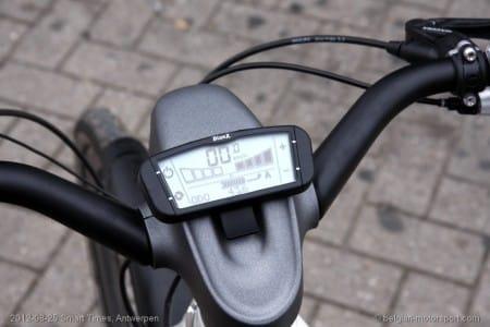 Smart ebike dashboard