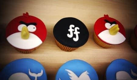 Social media cupcakes van Medemerkers
