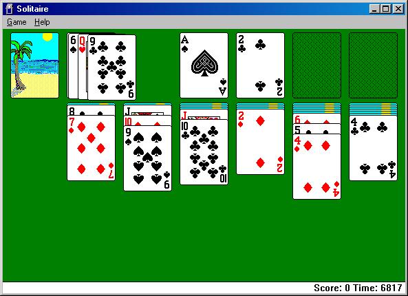 Solitaire kaartspel voor Microsoft Windows