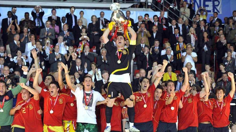 Spanje wint EK 2008