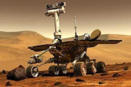 Spirit Mars rover