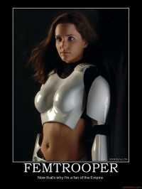 Star Wars Femtrooper