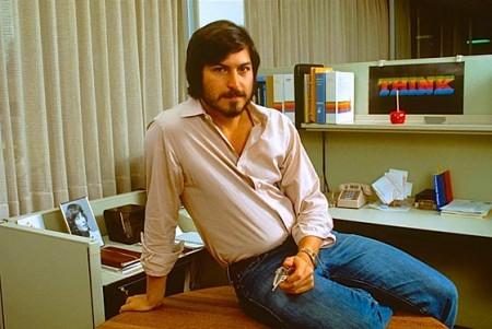 Oude foto van Steve Jobs