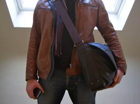 Stijn en de veel te zware tas