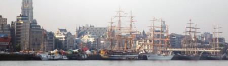 Tall Ships Race 2010 in Antwerpen