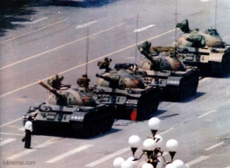 Protesten op het Tiananmenplein in 1989