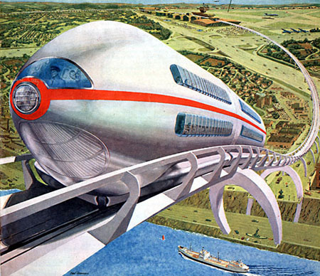 Tomorrow's railroads in the sky (Ralph Stein)