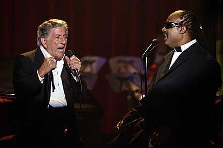 Tony Bennett Stevie Wonder