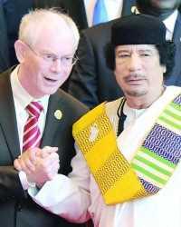 Van Rompuy and Qadhafi