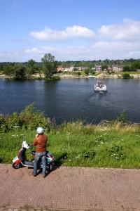 Veerpont over de Maas