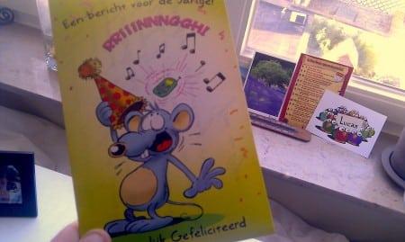 Verjaardagskaart voor m'n 30ste