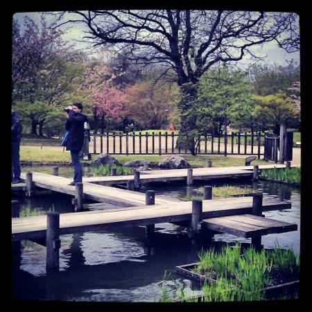 Japanse wandelbrug