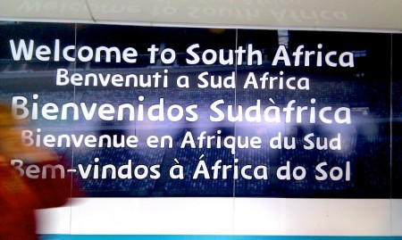 Welcome to South Africa!