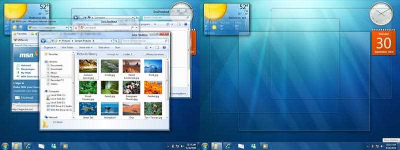 Windows 7 preview