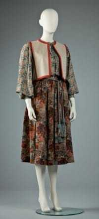 Yves Saint Laurent, ensemble, 1976